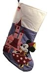 Disney Christmas Stocking - Minnie Mouse and Castle