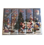 Disney Chocolate Candy - Holiday Candy Bars - 5 Bars