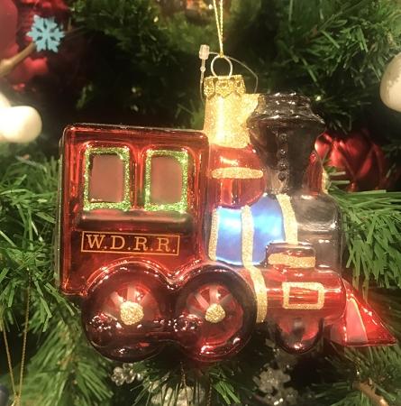 Disney Christmas Ornament Walt Disney World Train