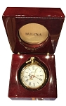 Disney Pocket Watch - Bulova - Mickey Mouse - Gold
