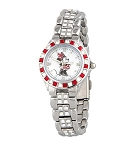 Disney Wrist Watch for Women - Minnie Rhinestone Bezel - Sutton
