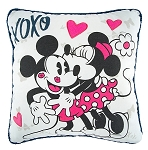 Disney Throw Pillow - Mickey and Minnie Love