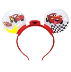 Disney Glow Ears Headband - Lightning McQueen - Light Up