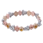 Disney Stretch Bracelet - Mickey Icon - Gold, Rose Gold, Silver