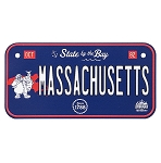 Disney License Plate Magnet - Massachusetts State - Pete