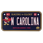 Disney License Plate Magnet - North Carolina State - Donald Duck
