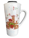 Disney Travel Mug - Starbucks - Christmas Gingerbread Castle