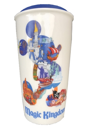 Disney Travel Mug Starbucks Mickey Mouse Magic Kingdom