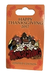 Disney Thanksgiving Pin - 2017 Lilo and Stitch