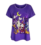 Disney Shirt for Women - 2017 Halloween - Mickey and Friends - Purple