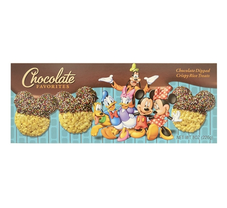 Disney Chocolate Favorites Box - Chocolate Dipped Rice Crispy Treats