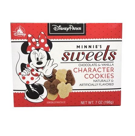 Disney Minnie's Sweets - Chocolate & Vanilla Character Cookies - 7 oz