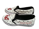 Disney Shoes for Women - Minnie Mouse Bow with Polka Dots - White