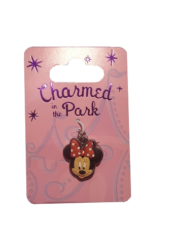Disney Dangle Charm - Charmed in the Park - Minnie Mouse Face