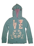 Disney Hoodie for Girls - Frozen - Elsa Zip Up Jacket - Love