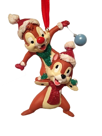 Disney Christmas Ornament - Santa Chip and Dale