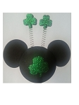 Disney Antenna Topper - St. Patrick's Day - Mickey Mouse Clover