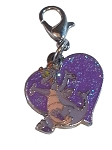 Disney Dangle Charm - Charmed in the Park - Figment Heart