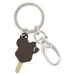 Disney Keychain - Mickey Mouse Ice Cream Bar - Jeweled - Metal