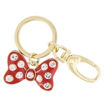 Disney Keychain - Minnie Mouse Bow - Jeweled