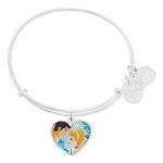 Disney Alex and Ani Bracelet - Cinderella and Prince - Valentine's Day