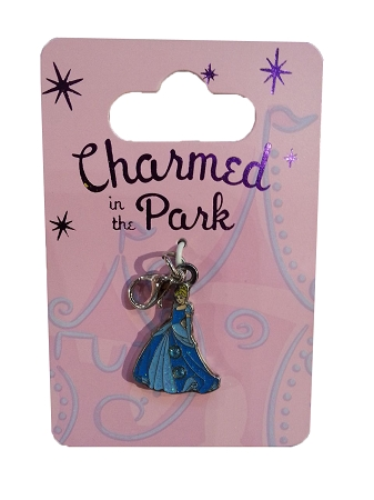Disney Dangle Charm - Charmed in the Park - Cinderella - Jeweled