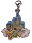 Disney Dangle Charm - Charmed in the Park - Tinker Bell and Castle