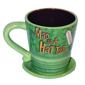 Disney Coffee Mug - Mad Hatter with Saucer