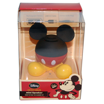 Disney Mini Speaker - Mickey Mouse - Rechargeable