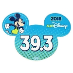 Disney Auto Magnet - 2018 Run Disney - Mickey Mouse - 39.3