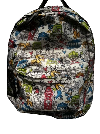 Disney Backpack Bag - Main Street - Mickey Mouse and Friends