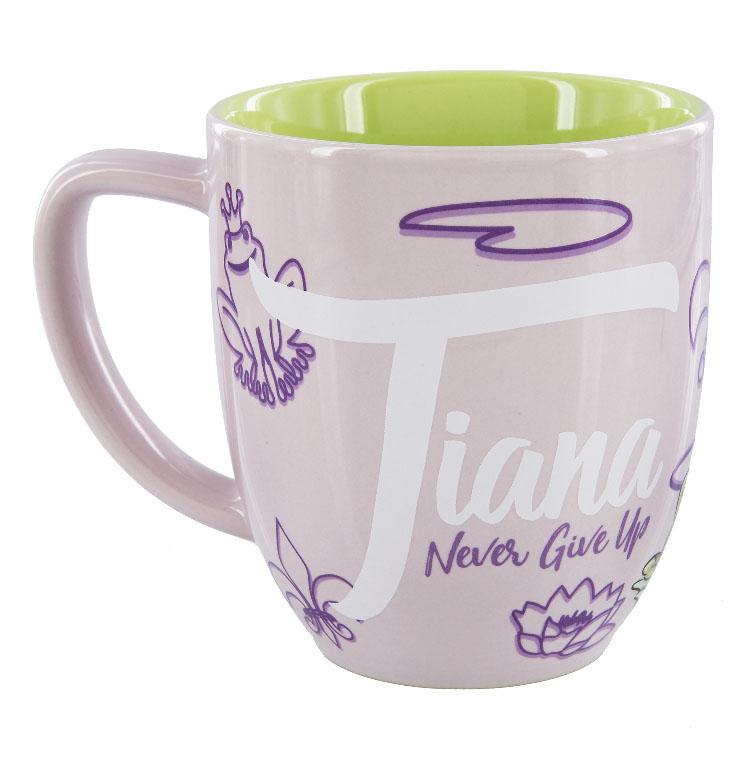 Never Disney Mug Tiana Up Princess Give Portrait Coffee hrCBxQtsd