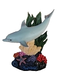 Sea World Figurine - Dolphin - Coral Reef