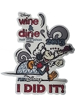 Disney Window Decal - Run Disney - Wine and Dine Half Marathon 2013