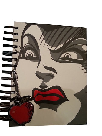 Disney Journal Notebook - Evil Queen - Snow White - Double Sided