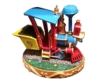 Disney Medium Figure Statue - Casey Junior Circus Train - Light Up