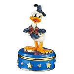 Disney Arribas Trinket Box - Donald Duck