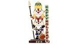 Disney Christmas Pin - 2013 Tier Nutcracker - Chip and Dale