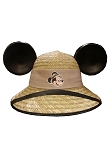 Disney Hat - Safari Mickey Mouse Wicker Ear Hat