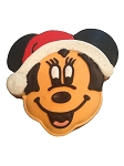 Disney Parks Cookie - Gingerbread Cookie - Santa Minnie Mouse