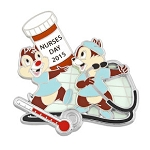 Disney Nurse's Day Pin - 2015 Chip and Dale