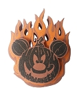 Disney Antenna Topper - Flaming Pumpkin - Mickey Mouse
