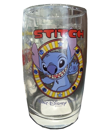 Disney Arribas Juice Glass - Stitch - Jeweled