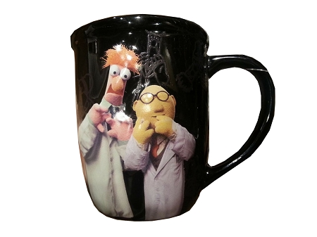Disney Coffee Mug - Muppets - Nerds are Awesome
