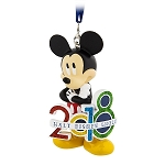 Disney Christmas Ornament - 2018 Mickey Mouse Figural - Disney World