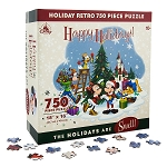 Disney Jigsaw Puzzle - Happy Holidays - Santa Mickey and Friends