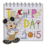 Disney Teacher Day Pin - 2015 National Teacher Day - Mickey Mouse