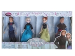 Disney Doll Set - Frozen Mini Doll Set - 4 Dolls