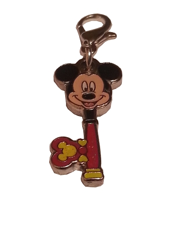 Disney Dangle Charm - Charmed in the Park - Mickey Mouse Key