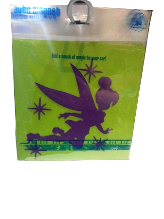 Disney Auto Magnet - Tinker Bell and Stars - Purple